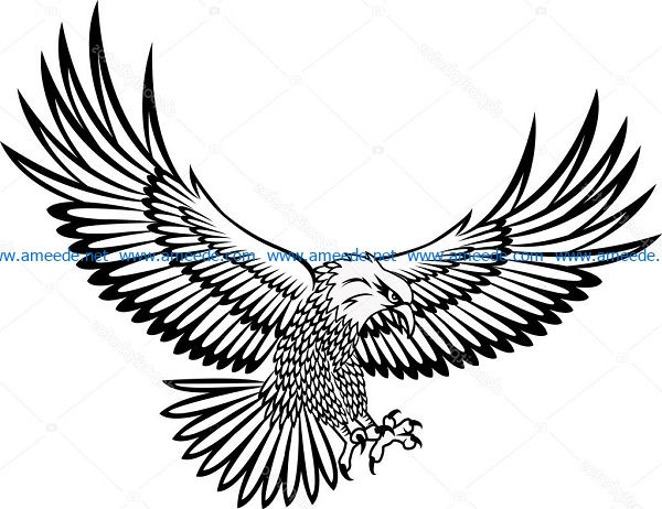 eagle file cdr and dxf free vector download for print or laser engraving machines