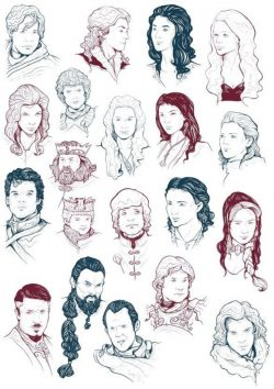 game of thrones file cdr and dxf free vector download for print or laser engraving machines