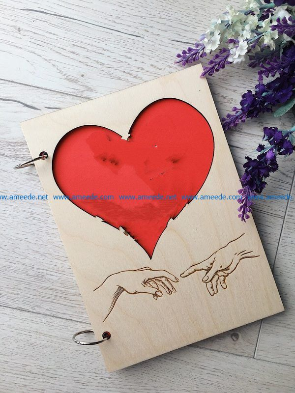 hands and heart shape file cdr and dxf free vector download for Laser cut