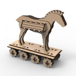 horse skateboard file cdr and dxf free vector download for Laser cut
