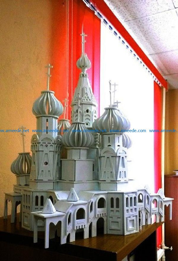 indian castle file cdr and dxf free vector download for Laser cut