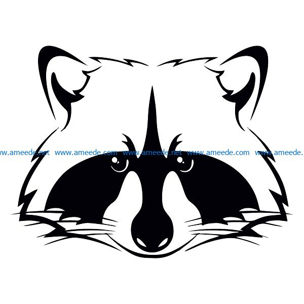 little fox file cdr and dxf free vector download for print or laser engraving machines