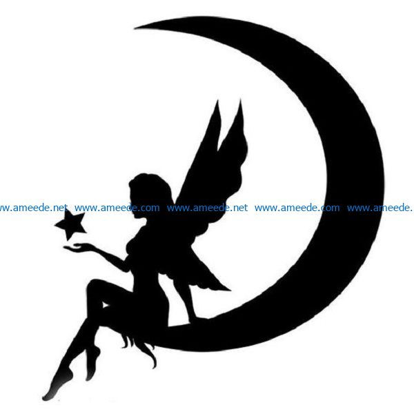moon god file cdr and dxf free vector download for print or laser engraving machines