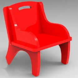 small plastic chair file cdr and dxf free vector download for Laser cut