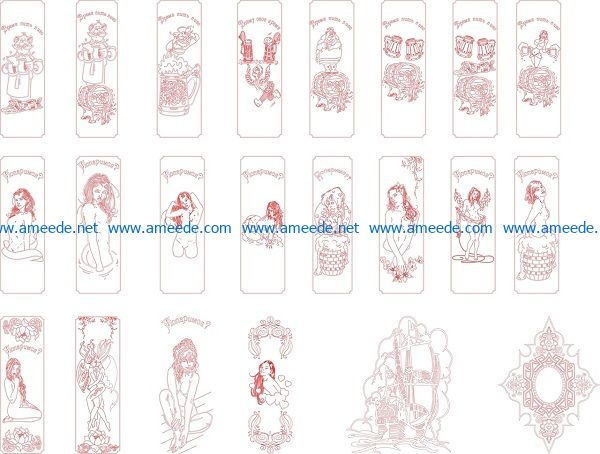 spa beer file cdr and dxf free vector download for print or laser engraving machines
