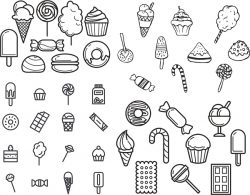 sweet vector set file cdr and dxf free vector download for print or laser engraving machines