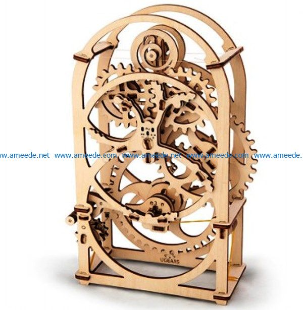 timer file cdr and dxf free vector download for Laser cut