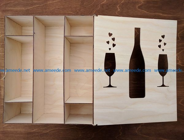 wine racks file cdr and dxf free vector download for Laser cut