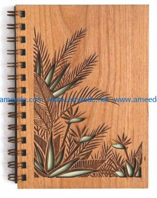 wooden book file cdr and dxf free vector download for print or laser engraving machines_ACD_0
