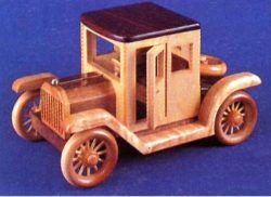 1910 Ford Model file pdf free vector download for CNC cut