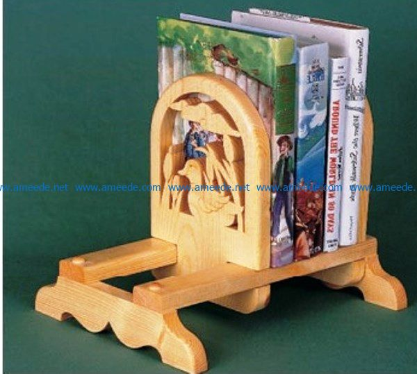 Adjustable Book Racks file cdr and dxf free vector download for Laser cut CNC