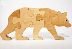 Assemble the bear file cdr and dxf free vector download for Laser cut