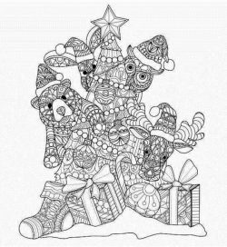 Bear with christmas tree free vector download for print or laser engraving machines