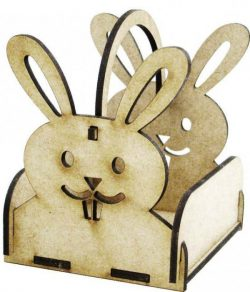 Box Hare file cdr and dxf free vector download for Laser cut