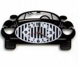 Car wall clock file cdr and dxf free vector download for Laser cut
