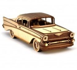 Chevrolet Bel Air file cdr and dxf free vector download for Laser cut