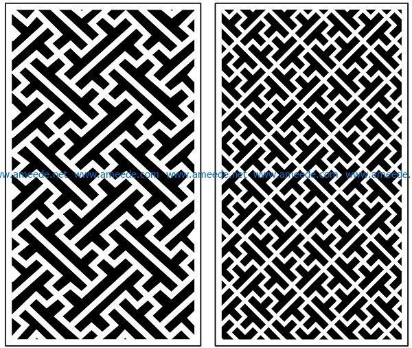 Design pattern panel screen AN00070904 file cdr and dxf free vector download for Laser cut CNC