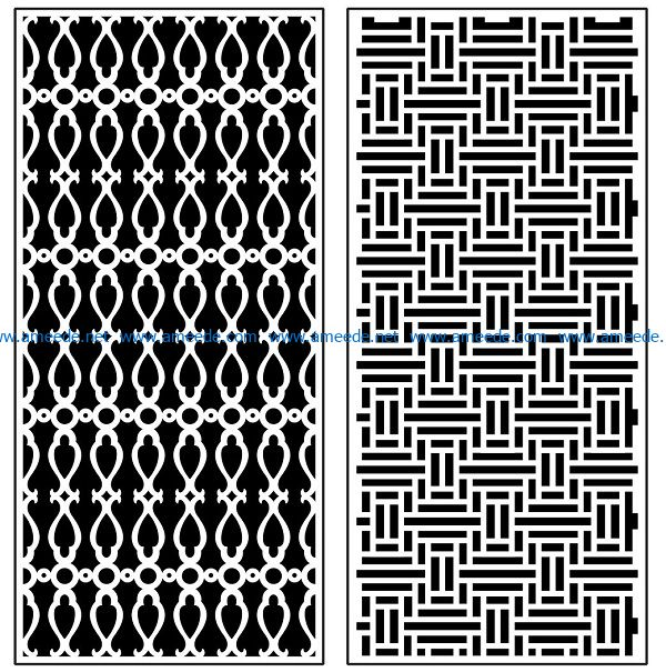 Design pattern panel screen AN00070908 file cdr and dxf free vector download for Laser cut CNC