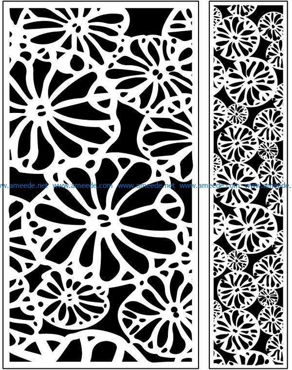 Design pattern panel screen AN00071073 file cdr and dxf free vector download for Laser cut CNC
