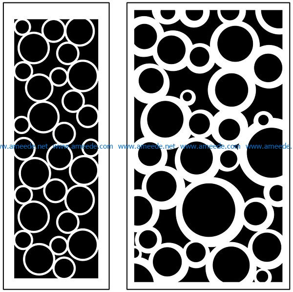 Design pattern panel screen AN00071102 file cdr and dxf free vector download for Laser cut CNC