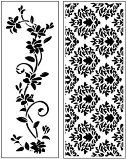Design pattern panel screen AN00071150 file cdr and dxf free vector download for Laser cut CNC