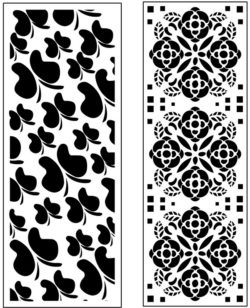 Design pattern panel screen AN00071156 file cdr and dxf free vector download for Laser cut CNC