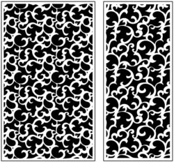 Design pattern panel screen AN00071160 file cdr and dxf free vector download for Laser cut CNC