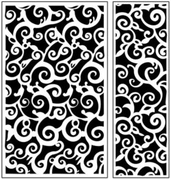 Design pattern panel screen AN00071161 file cdr and dxf free vector download for Laser cut CNC