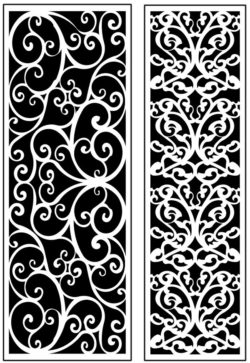 Design pattern panel screen AN00071162 file cdr and dxf free vector download for Laser cut CNC