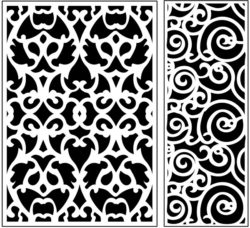Design pattern panel screen AN00071164 file cdr and dxf free vector download for Laser cut CNC