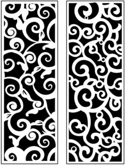 Design pattern panel screen AN00071165 file cdr and dxf free vector download for Laser cut CNC