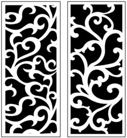 Design pattern panel screen AN00071167 file cdr and dxf free vector download for Laser cut CNC