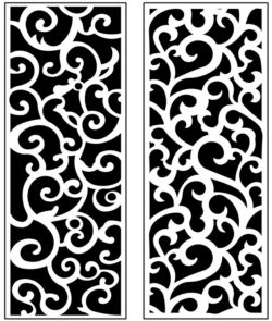 Design pattern panel screen AN00071168 file cdr and dxf free vector download for Laser cut CNC