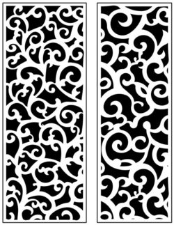 Design pattern panel screen AN00071172 file cdr and dxf free vector download for Laser cut CNC
