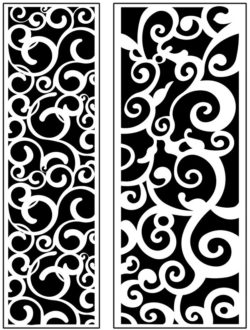 Design pattern panel screen AN00071173 file cdr and dxf free vector download for Laser cut CNC