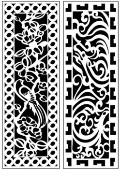 Design pattern panel screen AN00071189 file cdr and dxf free vector download for Laser cut CNC