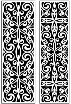 Design pattern panel screen AN00071194 file cdr and dxf free vector download for Laser cut CNC