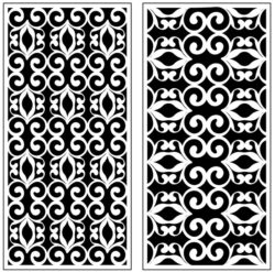 Design pattern panel screen AN00071195 file cdr and dxf free vector download for Laser cut CNC