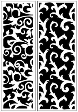 Design pattern panel screen AN00071197 file cdr and dxf free vector download for Laser cut CNC