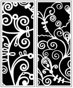 Design pattern panel screen AN00071198 file cdr and dxf free vector download for Laser cut CNC