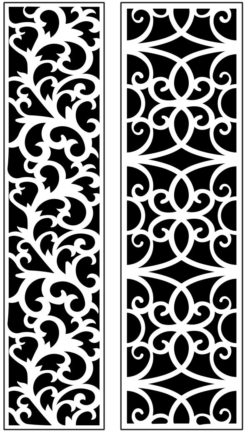 Design pattern panel screen AN00071200 file cdr and dxf free vector download for Laser cut CNC