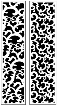 Design pattern panel screen AN00071201 file cdr and dxf free vector download for Laser cut CNC