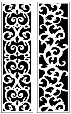 Design pattern panel screen AN00071202 file cdr and dxf free vector download for Laser cut CNC