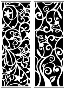 Design pattern panel screen AN00071204 file cdr and dxf free vector download for Laser cut CNC