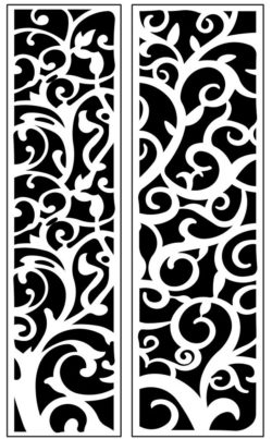 Design pattern panel screen AN00071205 file cdr and dxf free vector download for Laser cut CNC