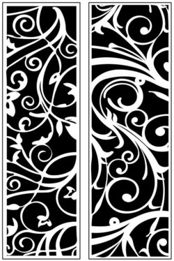 Design pattern panel screen AN00071206 file cdr and dxf free vector download for Laser cut CNC
