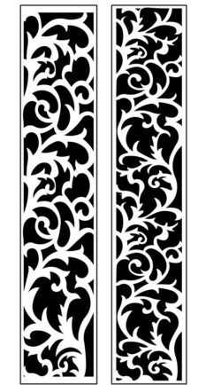 Design pattern panel screen AN00071207 file cdr and dxf free vector download for Laser cut CNC