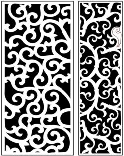 Design pattern panel screen AN00071208 file cdr and dxf free vector download for Laser cut CNC