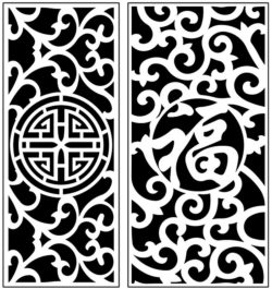 Design pattern panel screen AN00071210 file cdr and dxf free vector download for Laser cut CNC