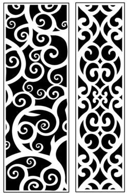 Design pattern panel screen AN00071213 file cdr and dxf free vector download for Laser cut CNC